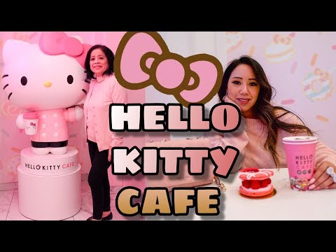 WE VISITED THE HELLO KITTY GRAND CAFE IRVINE-HELLO KITTY GRAND CAFE  -HELLO KITTY GRAND CAFE IRVINE