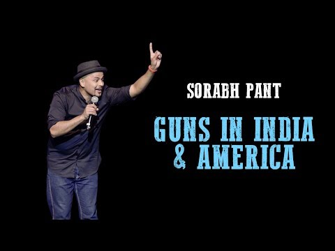 Guns in America & India: Standup Comedy by Sorabh Pant | #MakeIndiaGreatAgain