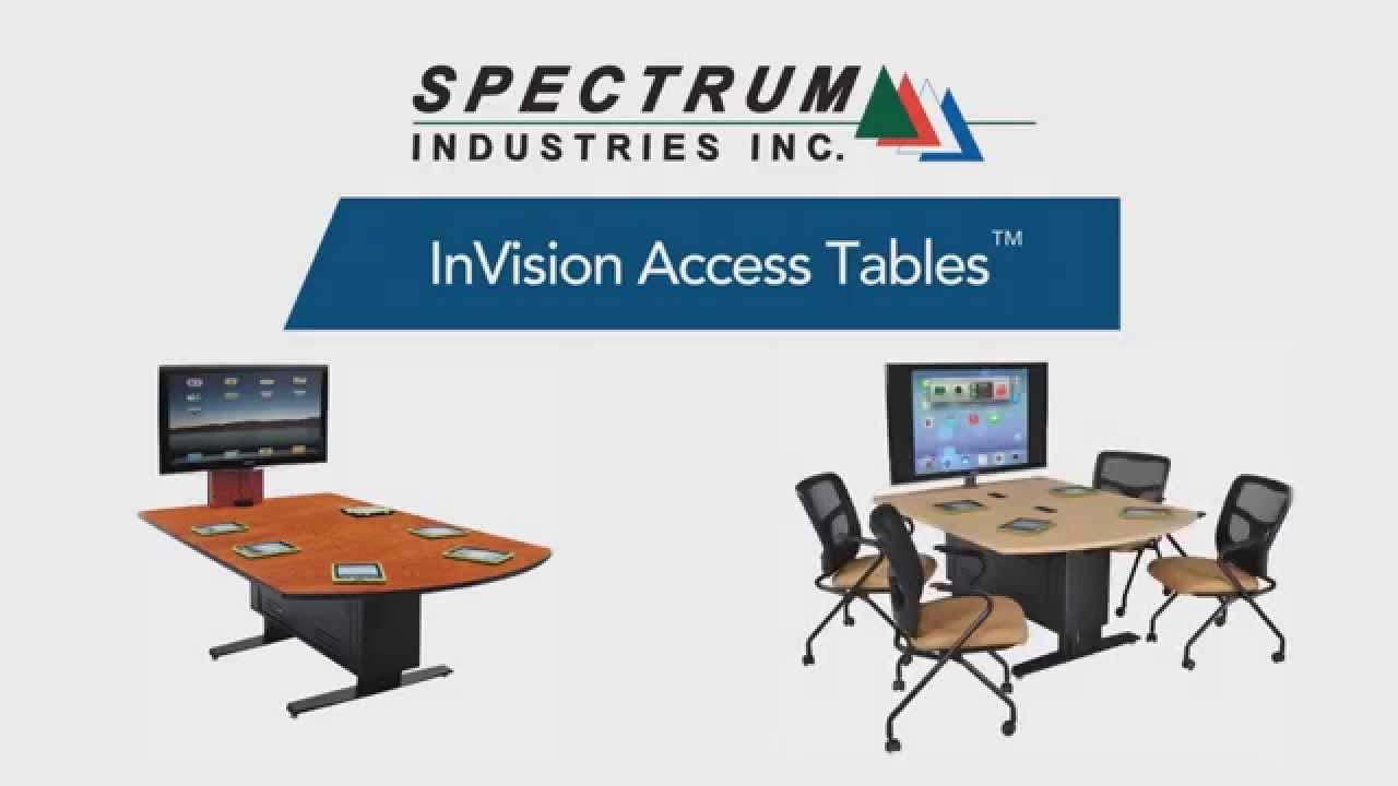 Spectrum Furniture | InVision Access Tables