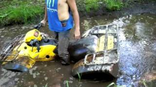 Four Wheeler Mudding