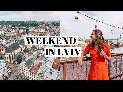 weekend in lviv, ukraine! | travel vlog