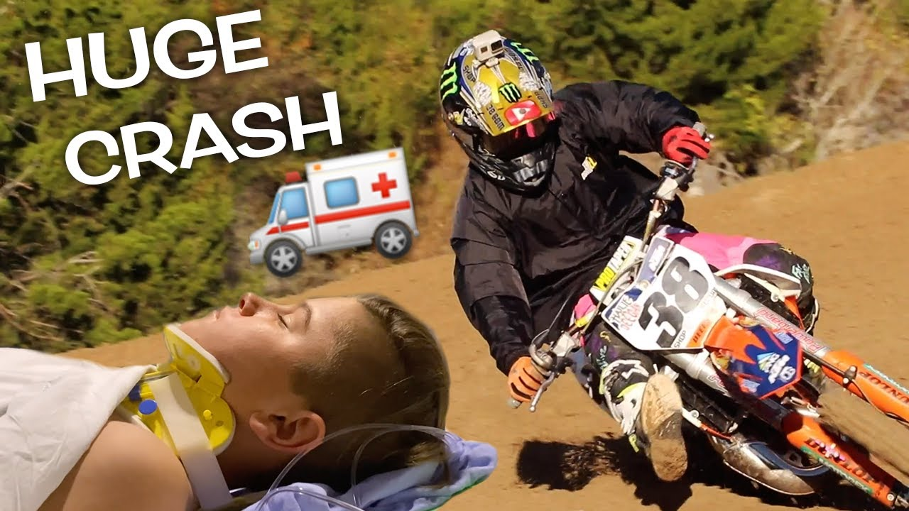 Download ENDED RACE IN HOSPITAL! DANGERBOY CRASHES AT MINI O'S!