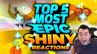 TOP 5 MOST EPIC SHINY POKEMON REACTIONS EVER! w/ aDrive Pokemon ORAS and More!