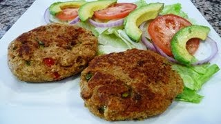 Tuna Patties-tuna Burgers