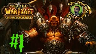 Let's Play World of Warcraft: Cataclysm - Part 1 | NIGHTELF HUNTER