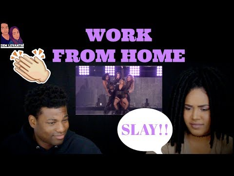 Cover Lagu Fifth Harmony - Work from Home (iHeartRadio Summer Party 2017)| REACTION STAFABAND