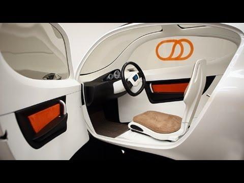 Lit Motors' C-1: A 2-wheel car? Or untippable motorcycle?