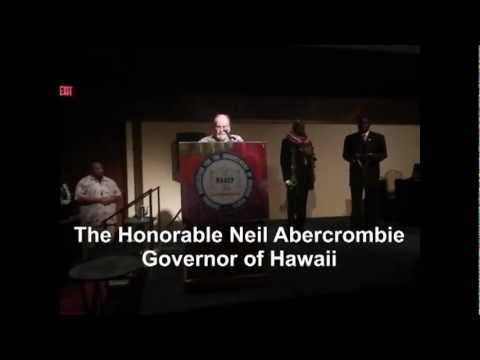 NAACP Award EJ Harris 2012 Hawaii