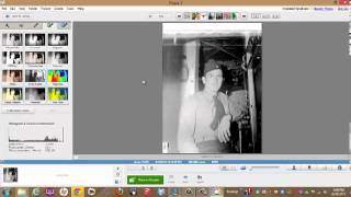 Convert a negative scan to a positive in Picasa
