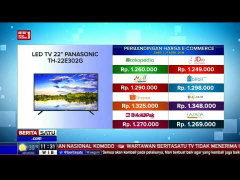 "Perbandingan Harga E-Commerce: Led TV 22"" Panasonic TH-22E302G"