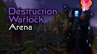 World of Warcraft Season 5 Destruction Warlock / Hunter - 2vs2 Arena PvP