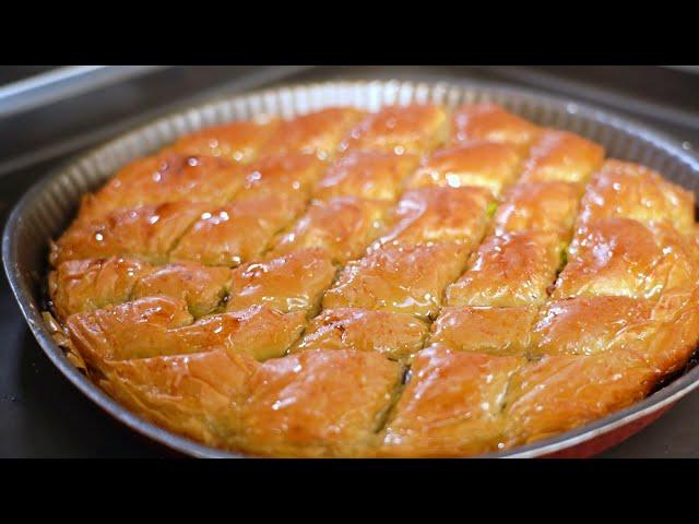 Baklava aux pistaches - cuisine du monde