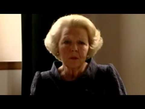 Queen Beatrix's reaction to the attack (English)