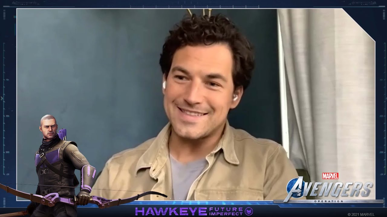 Marvel's Avengers - Interview with Giacomo Gianniotti (Hawkeye)