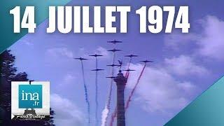 14 juillet 1974, défilé militaire de Bastille à République | Archive INA