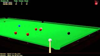 Virtual Pool 3 HD - Snooker 147 Online Break (1st Person)