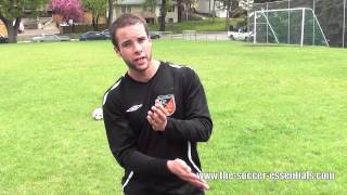 Long Passing Football or Soccer Tutorial