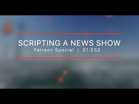 How to create a news show | BTS Patreon Special