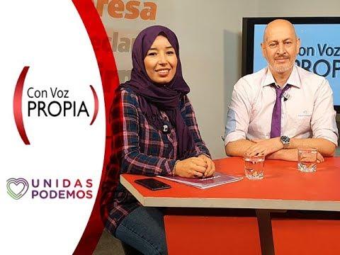 Con Voz Propia - Ramón Rodríguez y Nabila Soliman, candidatos de Unidas Podemos a Congreso y Senado
