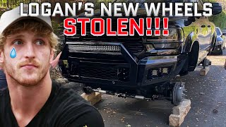 Logan Paul's New Truck Wheels Got Stolen And We Caught The Thieves!