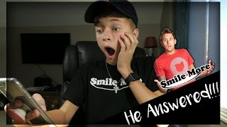 CALLING ROMAN ATWOOD!! *HE ANSWERED!*