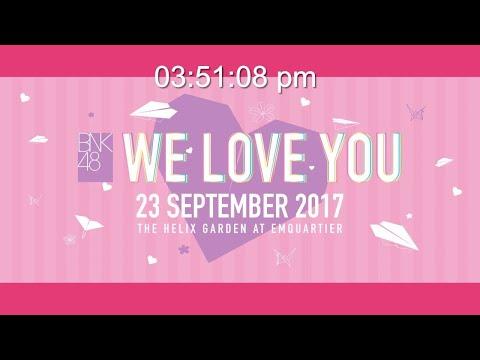 BNK48 Digital Live Studio 10th September 2017 for Youtube