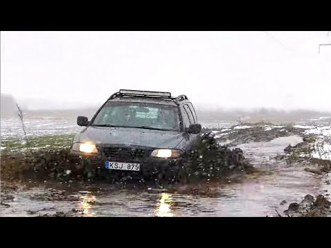 Volvo XC70 P2 2000 - 2007 Offroad. Volvo AWD Test.