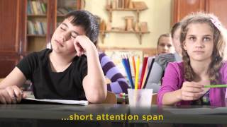 Short Attention Span - One Sign Your Child May Have a Vision Problem