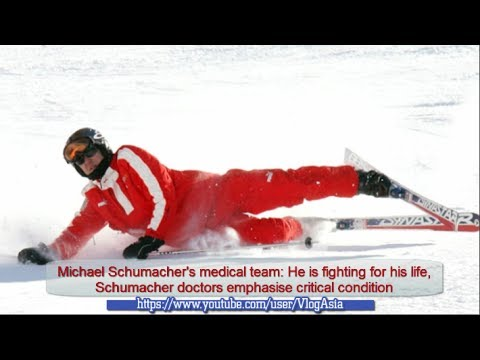 Michael Schumacher Critical and Coma after head injuries from skiing accident in French Alps