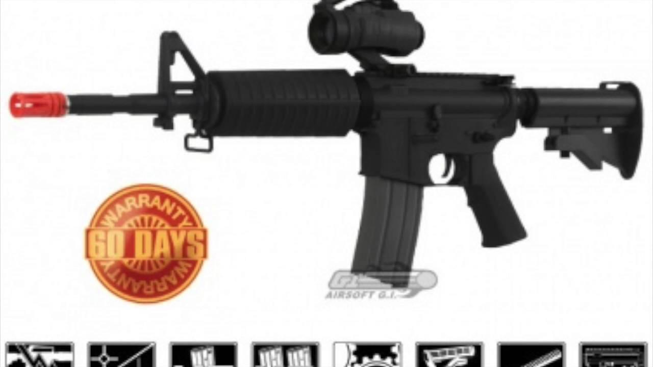 Top 5 Airsoft Guns Under 120