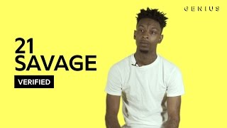 "21 Savage ""X"" Official Lyrics & Meaning 