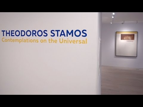"Scholar Jeffrey Grove on the exhibition ""Theodoros Stamos: Contemplations on the Universal"""