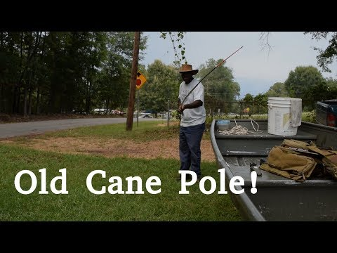 How To Rig A Cane Pole   Rigging A Telescopic Cane Pole