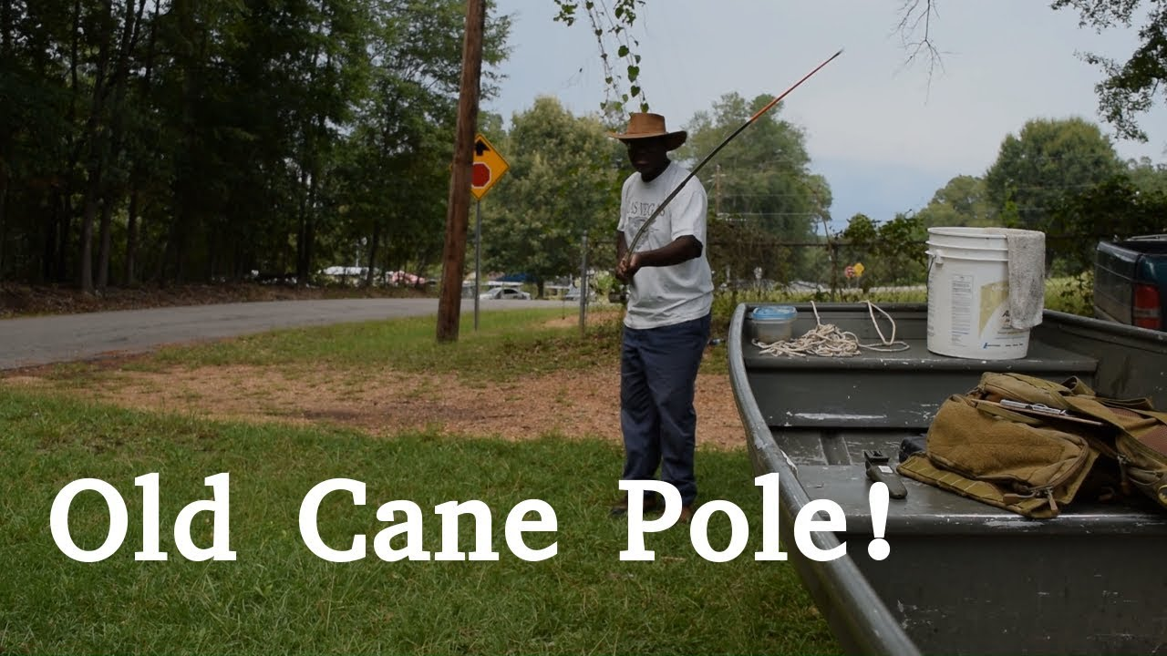 How to Rig a Cane Pole | Rigging a Telescopic Cane Pole