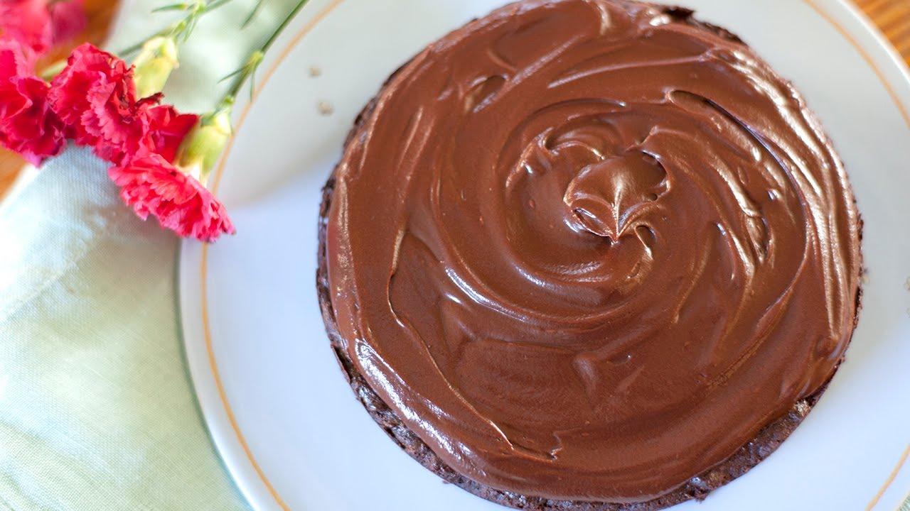 chocoladeglazuur maken voor taart