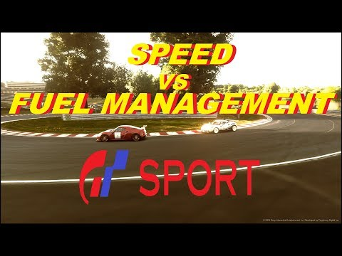 GT Sport Speed VS Fuel Management - GR.4 Daily Race