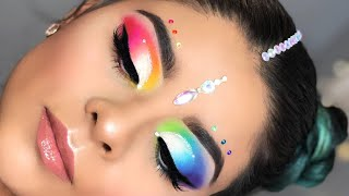 PRIDE Rainbrow Inspired Makeup | Pride Month
