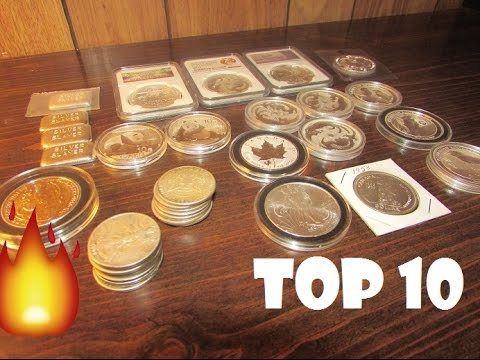 Top 10 Favorite Silver Coins!