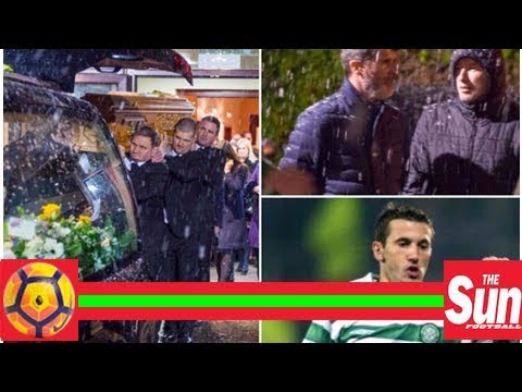 Ex-Manchester United star Liam Miller's body moved to church ahead of funeral as mourners including