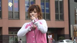 2012.4.15 藤田恵名 初南流山路上ライブ.