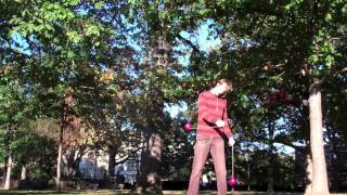 Basic Poi Dancing Tutorial: Isolations