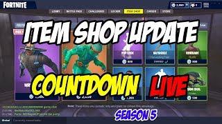 ITEM SHOP UPDATE - COUNTDOWN - Fortnite Battle Royale - 4th - 5th September