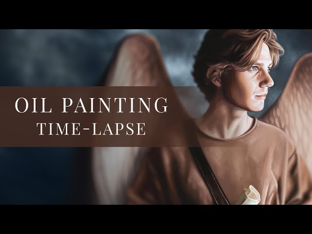The Messenger » Oil Painting Time-lapse by tiSpark