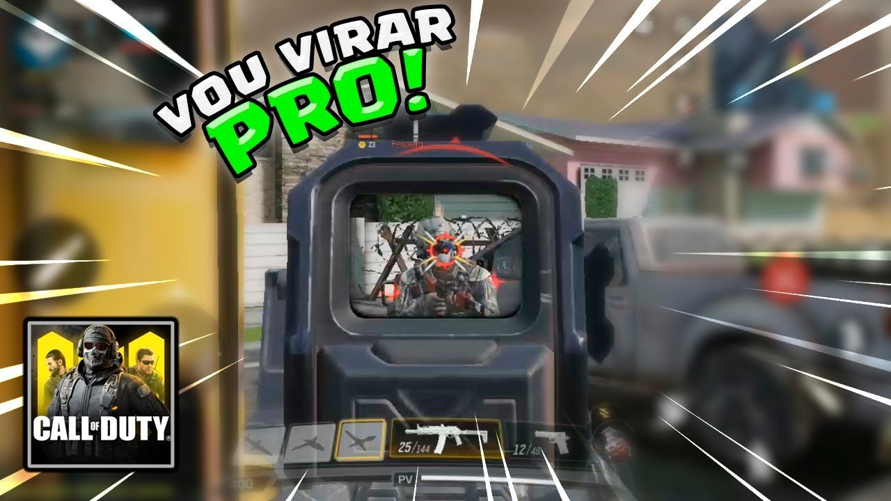 VOU VIRAR PRO! CALL OF DUTY MOBILE [GAMEPLAY PT BR]