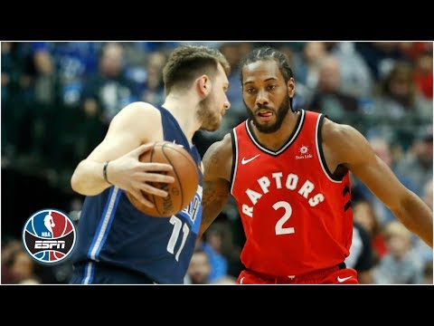 Kawhi Leonard and Luka Doncic duel in Raptors vs. Mavericks | NBA Highlights