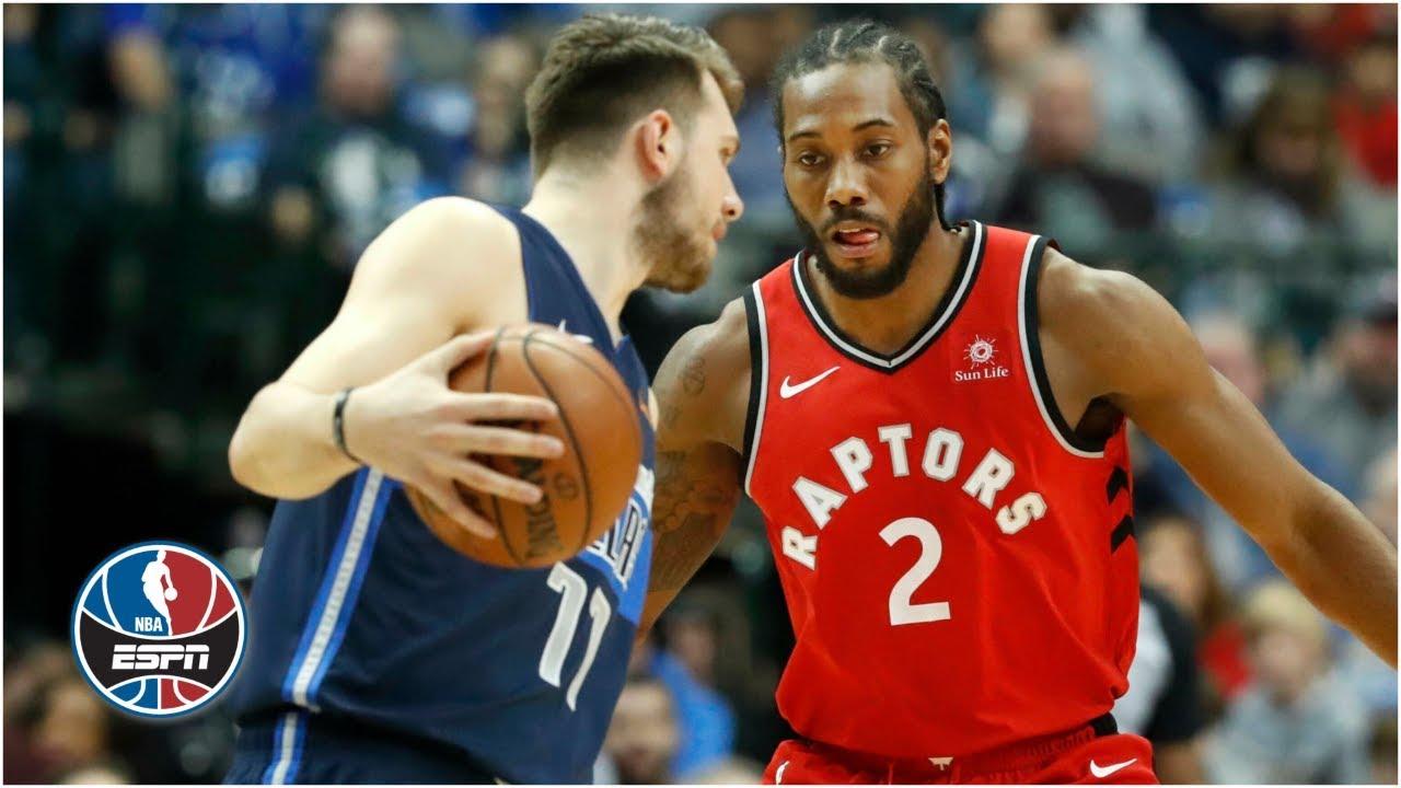 Kawhi Leonard and Luka Doncic duel in Raptors vs. Mavericks   NBA Highlights