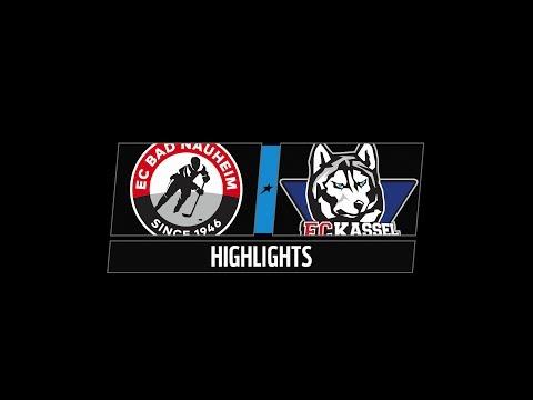 DEL2 Highlights 8. Spieltag | EC Bad Nauheim vs. Kassel Huskies