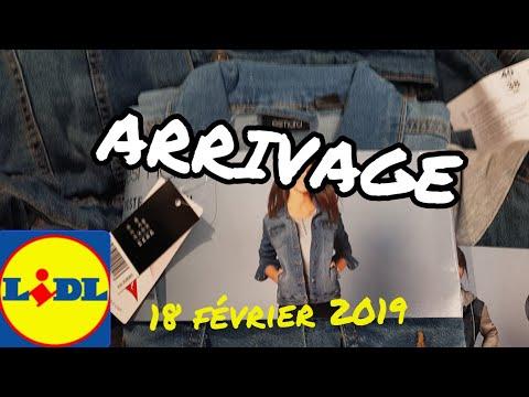 ARRIVAGE LIDL - 18 FEVRIER 2019 thumbnail