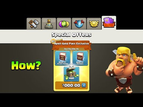 I Will Give You Free Rs.249 8x Value Pack In Clash Of Clans - Secret Trick