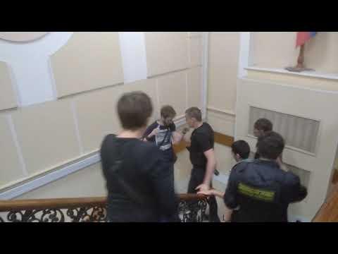 Задержание Давида Френкеля в Дзержинском суде